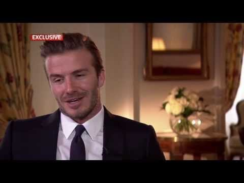 Why I retired from football - Beckham