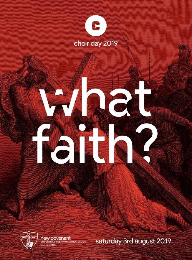 New Covenant Choir WhatFaith_Flyer 1