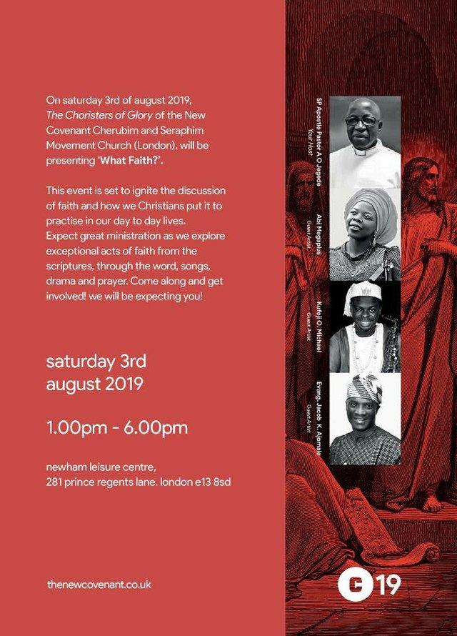 New Covenant Choir WhatFaith_Flyer 2