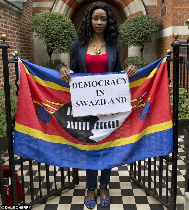 Fears - Miss Ngobeni believes she could be arrested or even killed if she has to return to Swaziland