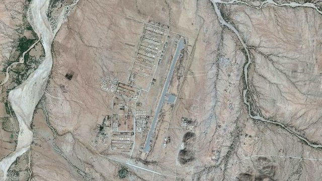 Satellite imagery of the Sawa Military Camp, including the Warsai Yikealo Secondary School