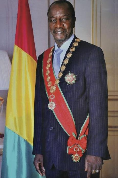 Président Alpha Conde