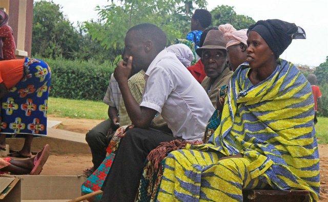 Patients at Nakivale refugee health centre in Uganda. Photo - IRIN  Samuel Okiror