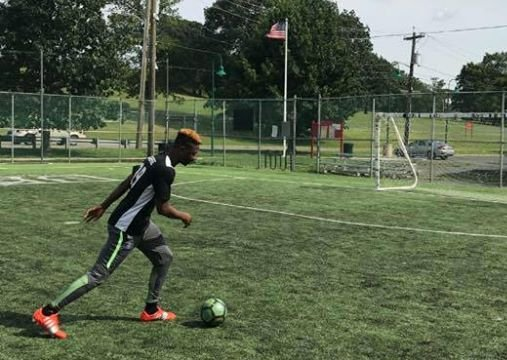 Talented Joseph Adah is the player with the highest number of goals scored in the history of the school. He always seems to find a way to score spectacular goals.jpg