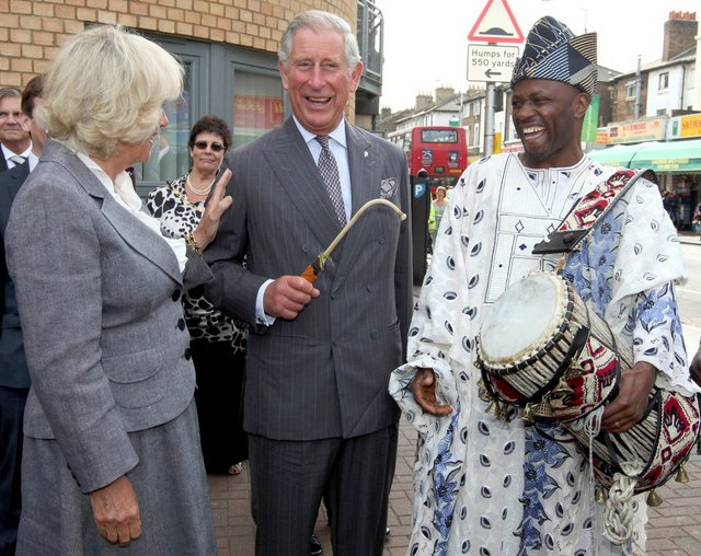 Ayan De First and Prince Charles