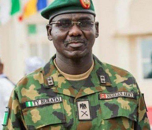 Nigeria's Chief of Army Staff - Lt. Gen. Tukur Buratai