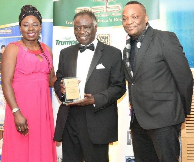 Titus Wole Odedun bags GAB Award