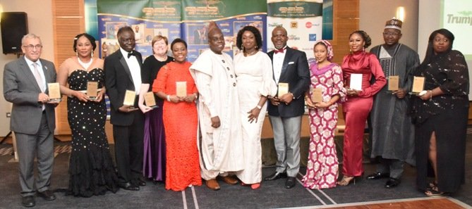 Some of the 2019 GAB Awards London recipients
