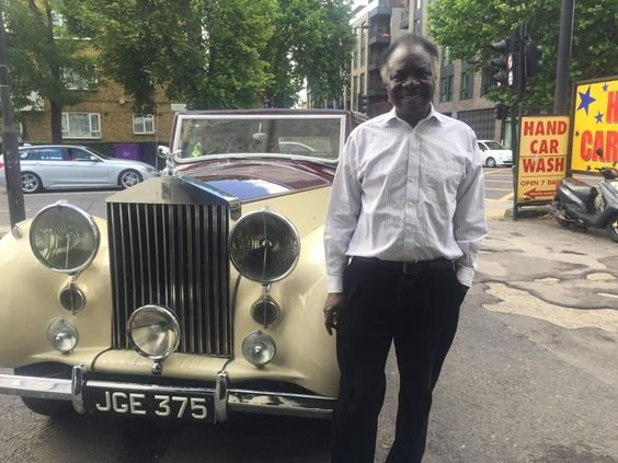 Dr Titus Odedun - the collector of Classic cars