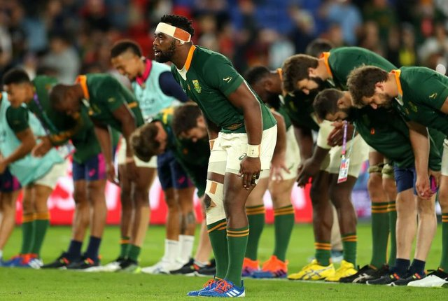 South Africa crowned Rugby World Cup champion