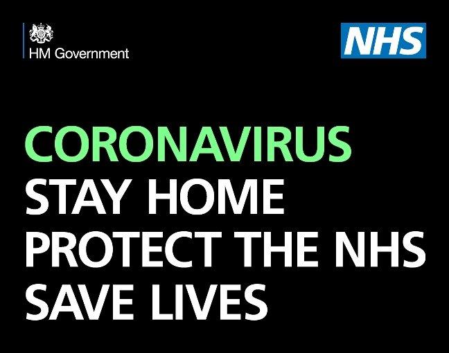 Coronavirus - stay home