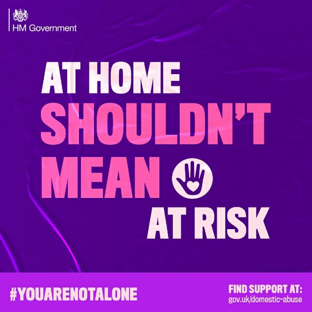 Domestic abuse YouAreNotAlone