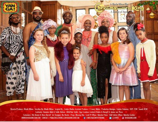 Christmas with The King- Yanga Tv logo