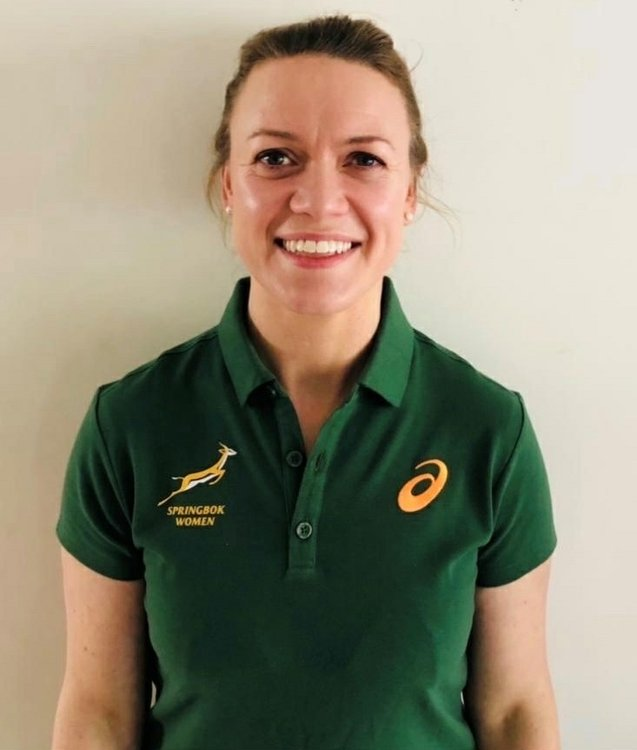SA Rugby's new Women's Rugby High Performance Manager, Lynne Cantwell