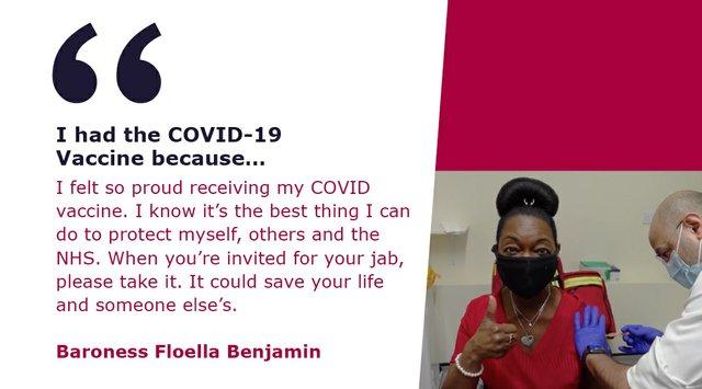 I had the COVID-19 Vaccine because...