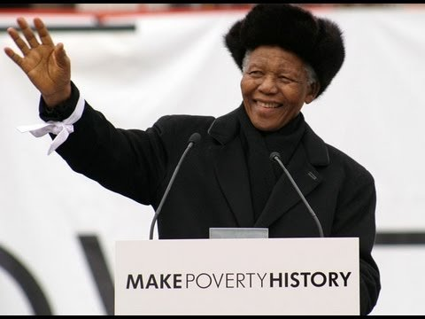 Mandela - Make Poverty History