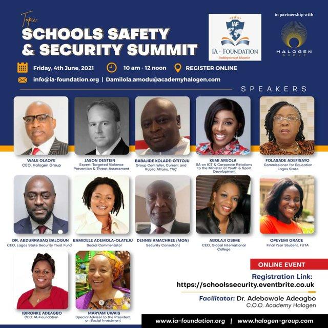 Schools Security Summit