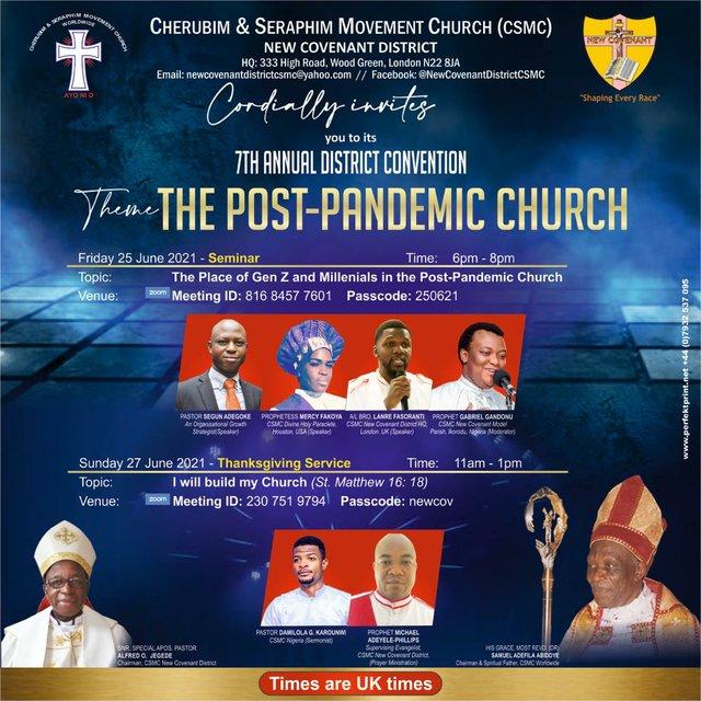 CSMC New Covenant District 7th Convention