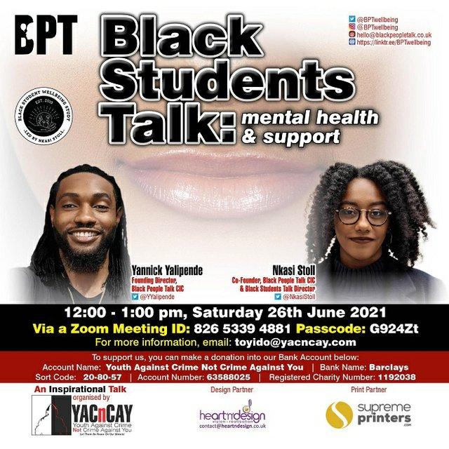 Black students talk mental health