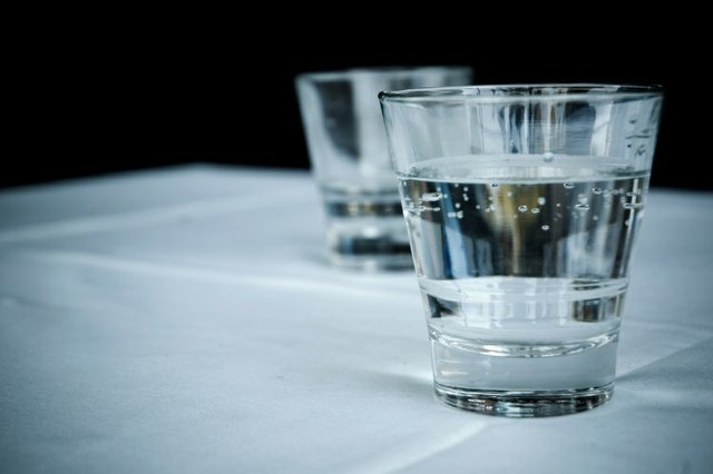 Aim to drink six to eight cups or glasses of fluid every day