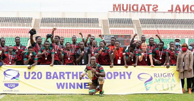 U20 Barthes Trophy Winners 2021