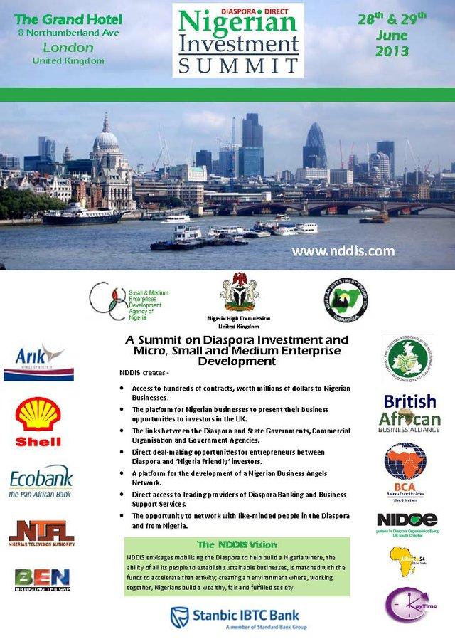 NDD Investment Summit