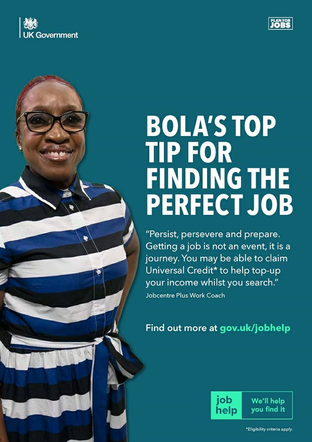 Bola's top tip for finding the perfect job