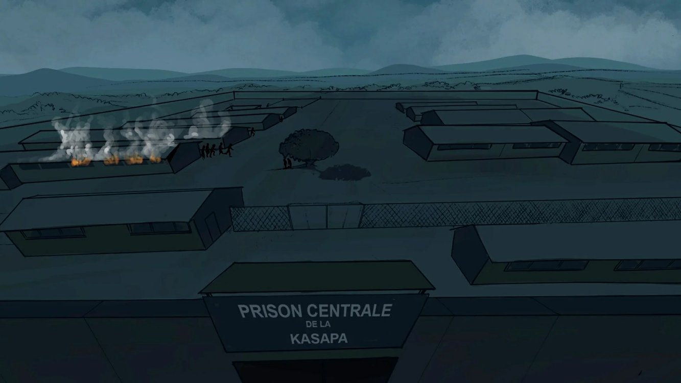 Mass rapes at Kasapa Central Prison