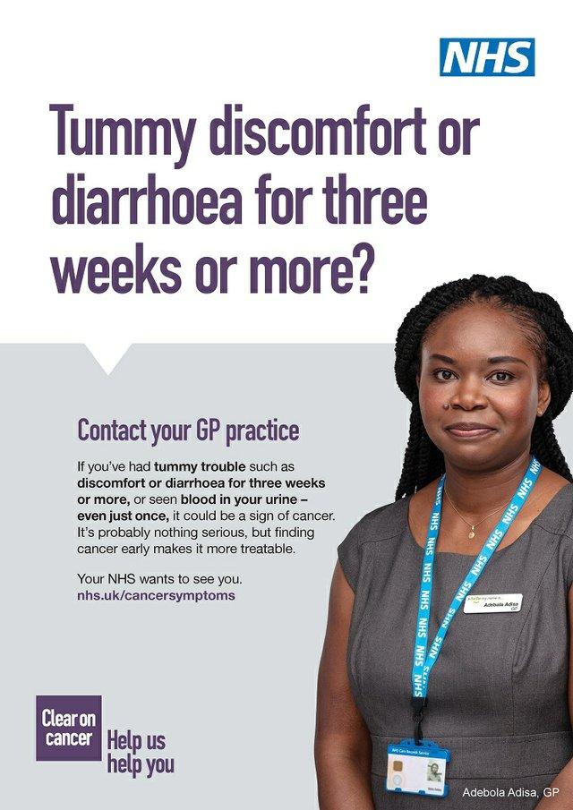 NHS Abdomen Uro HCP Poster