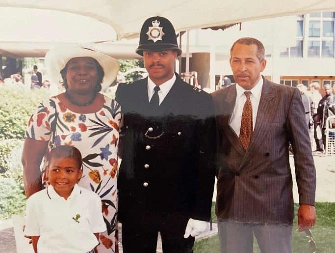 APS Gayle's dad's passing out parade