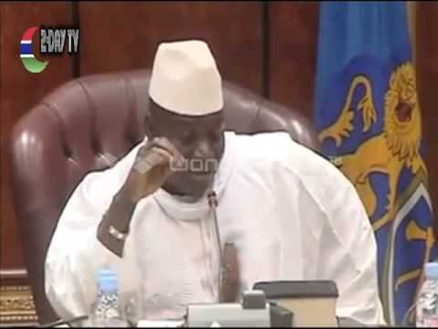 Don't dictate to us - President Jammeh