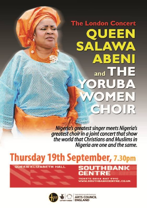 Queen Salawa Abeni and the Yoruba Choir - September 19 2013