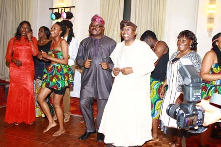 Ambassador Lawal and Pastor Adebayo-Oke dancing away.JPG