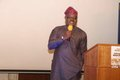 Ambassador Oluwatoyin Lawal delivering address on behalf of Nigeria High Commissioner, Dr Dalhatu Sarki Tafida CFR.JPG
