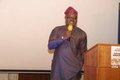 Ambassador Oluwatoyin Lawal delivering address on behalf of Nigeria High Commissioner, Dr Dalhatu Sarki Tafida CFR.JPG