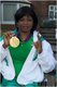 Joy Onaolapo won gold in the 52 kilogram powerlifting women s category.jpg