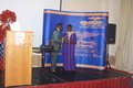 Cllr Anolue presenting award to Dr Ken Smart.JPG