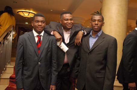 Dr Ayo Olatigbe and his sons, Tope and Femi.JPG