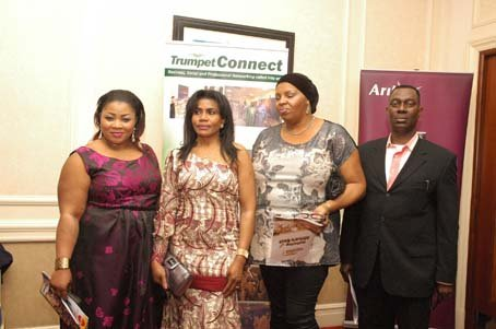 Guests including Seyi Olumayowa and Arik Air s Alex Afari.JPG