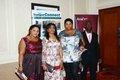 Guests including Wotever Cakes Seyi Olumayowa (left) and Arik Air s Alex Afari.JPG