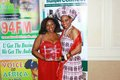 Lydia Kemunto Cutler and Justina Mutale celebrating Lydia s award.JPG