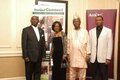 Mr Wonder Phiri, Mrs Ejura Akpotabore, Pastor Moses Owolabi and Dr Anthony Akpotabore.JPG