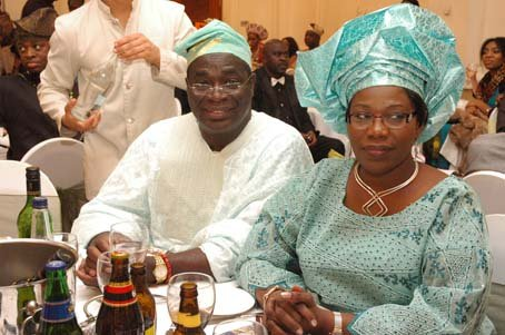 Otunba (Arc) Bolaji Falase and Ms Gladys Coker.JPG