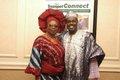 Past GAB Awards recipient and the evening's Compere, Princess Deun Adedoyin-Solarin and Femi Okutubo.JPG