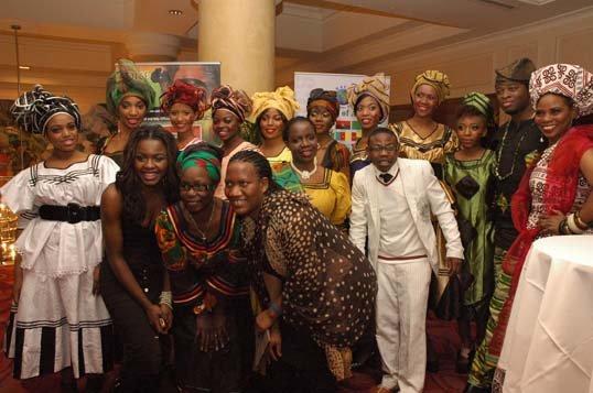 Zambian Fashion Designer, Mwangala Phiri of House of Bren-Der showcased her MUSISI designs.JPG