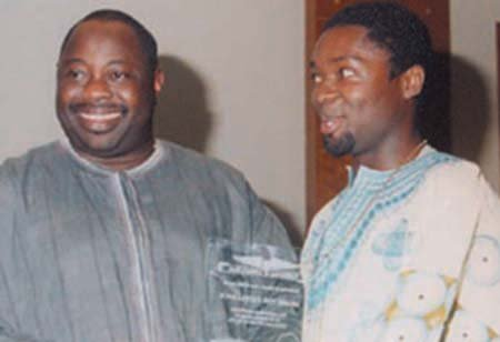 Dele Momodu and David Oyelowo