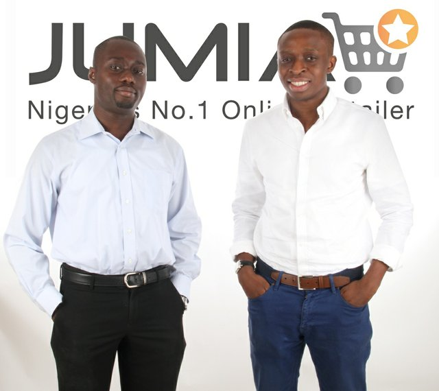Jumia Co-Founders Raphael Afeador and Tunde Kehinde