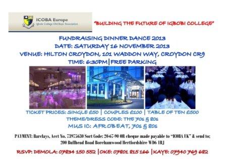ICOBA Dinner 2013