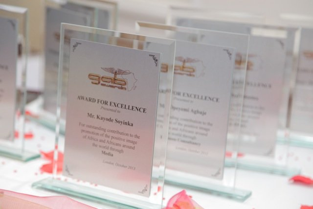 The Award Plaques