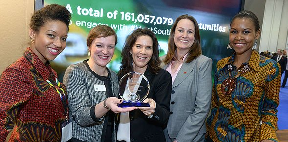 South Africa wins Best Stand Personnel award at WTM